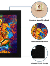 Load image into Gallery viewer, Wall Art Painting, Ganesha, Wood, 30x3x30 cm Story@Home