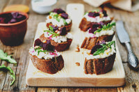 Goat Cheese Crostini