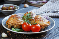 Caprese Chicken Thighs