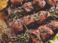 Peppered Steak Kabobs