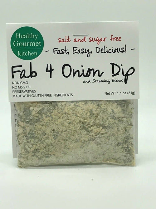 Healthy Gourmet Kitchen - Fab 4 Onion Dip Mix