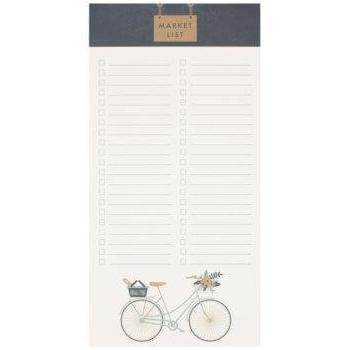 Ruff House Art - Cruiser Bicycle Market List Pad