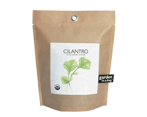 Potting Shed Creations - Cilantro Garden in a Bag Grow Kit