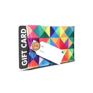 Wrapeez - Multicolor Stretch Fabric Gift Card Holder & Gift Tag