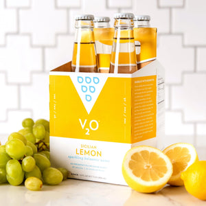 V2O Sicilian Lemon sparkling balsamic water
