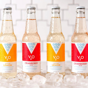 V2O Cranberry Pear sparkling balsamic water