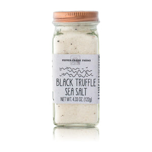Black Truffle Sea Salt Copper Top