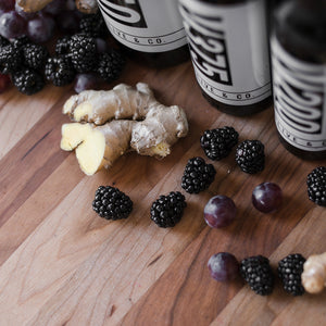 Blackberry Ginger Aged Dark Balsamic Vinegar