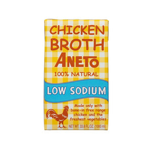 Low Sodium Chicken Broth, Aneto