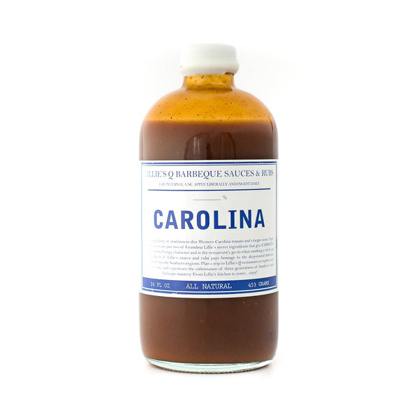 Carolina Zero Sugar Barbecue Sauce