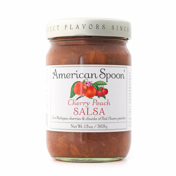 Cherry Peach Salsa