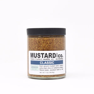 Mustard with Sea Salt