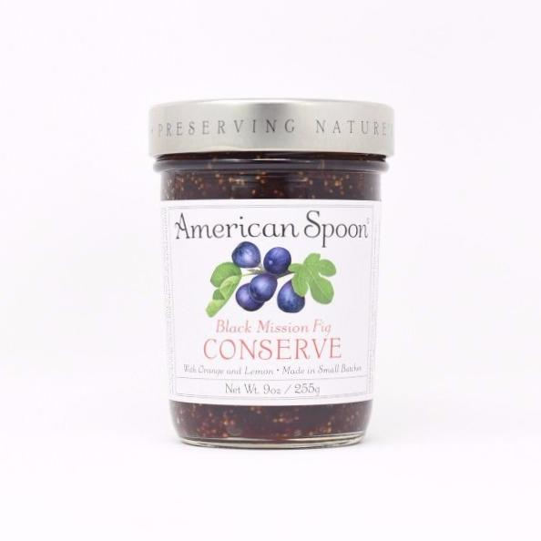 Black Mission Fig Conserve