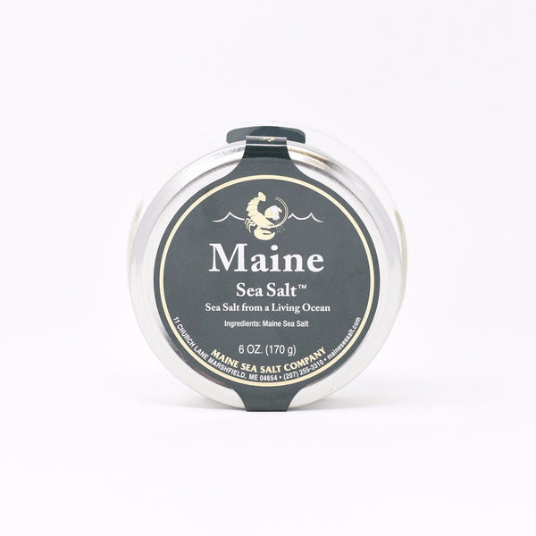 Maine Sea Salt Jar