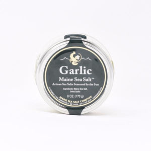 Maine Garlic Sea Salt Jar