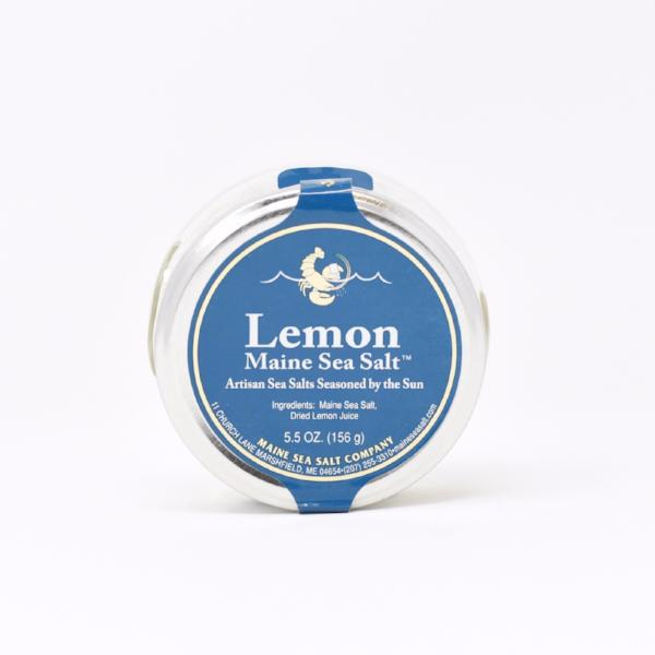 Maine Lemon Sea Salt Jar