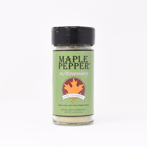 Maine Maple Pepper with Rosemary
