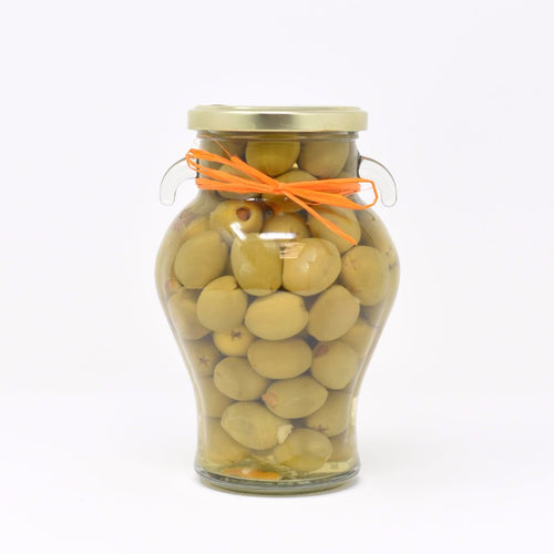 Manzanilla Olives Stuffed with Orange