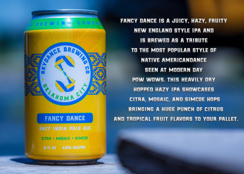 Fancy Dance IPA, Skydance Brewing Company
