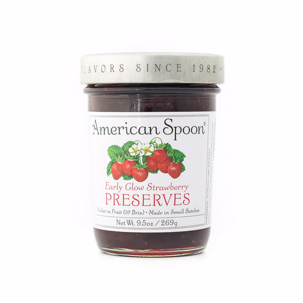 Early Glow Strawberry Preserves