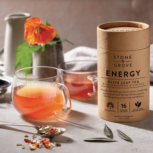 Olive Leaf Energy Tea
