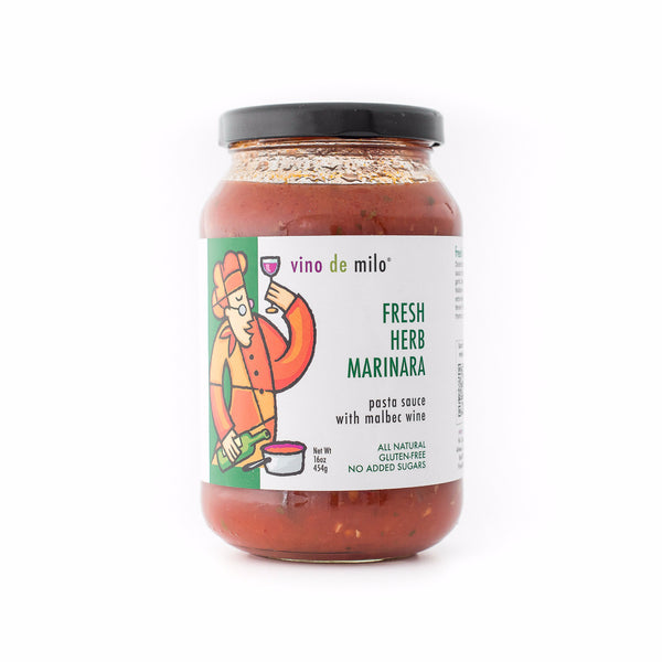 Fresh Herb Marinara with Malec Wine Pasta Sauce