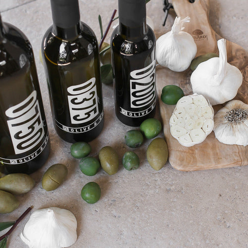 California Garlic Infused Olive Oil