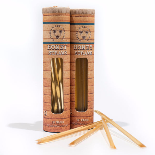 Honey Straw Gift Set