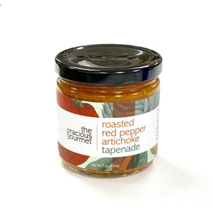 Roasted Red Pepper Artichoke Tapenade