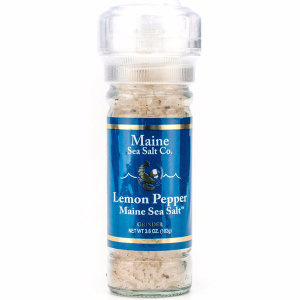 Lemon Pepper Sea Salt Grinder