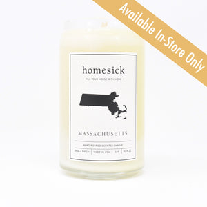 Massachusetts Candle