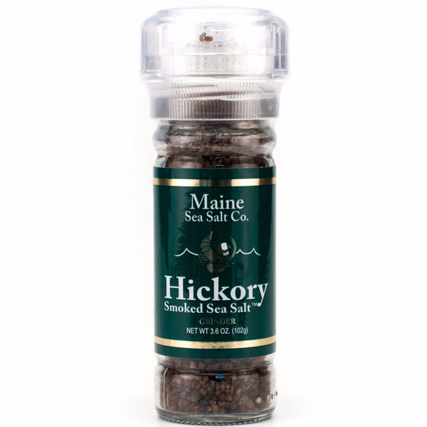 Maine Hickory Smoked Sea Salt