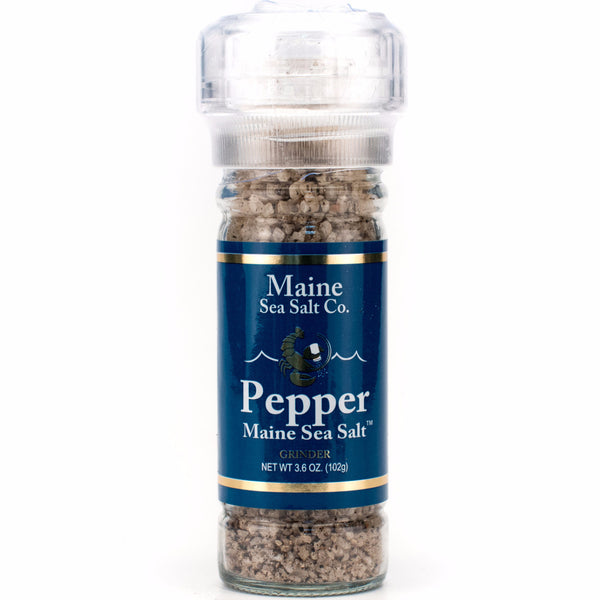 Maine Pepper Sea Salt