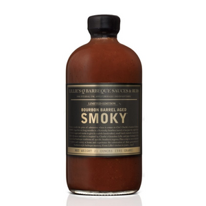 Bourbon Barrel Aged Smoky Barbecue Sauce