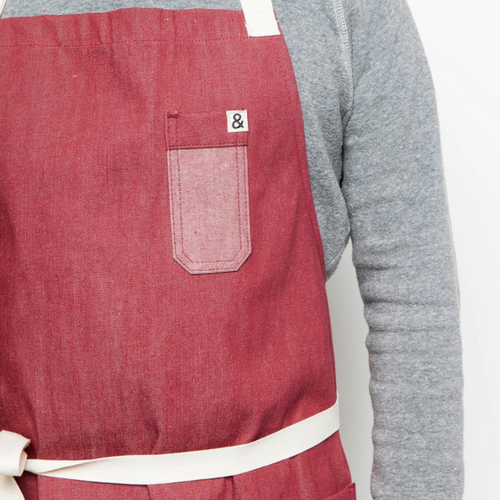 (Product) RED Classic Apron III Denim