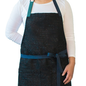 Nova Black with Multi-Color Apron