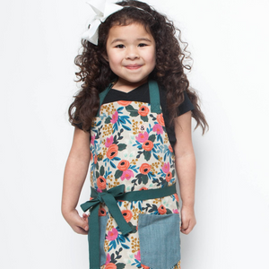 Rifle Paper Co. Rosa Herb Garden Classic Apron