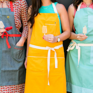 Canary Yellow Apron