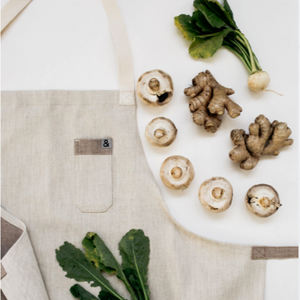 Woodstock Light Brown Apron