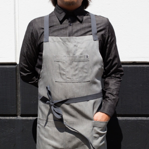 Haddock Light Grey Apron