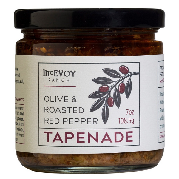 Olive And Roasted Red Pepper Tapenade