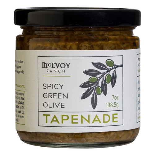 Spicy Green Olive Tapenade