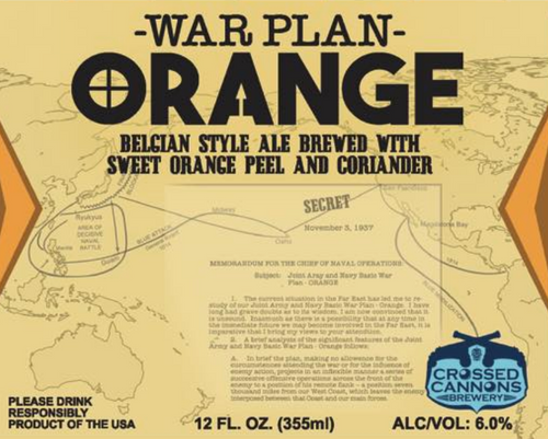 War Plan Orange, Crossed Cannons