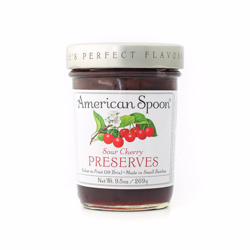 Sour Cherry Preserves