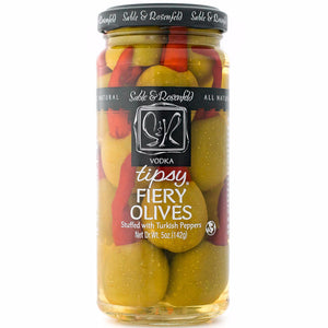 Vodka Fiery Tipsy Olives