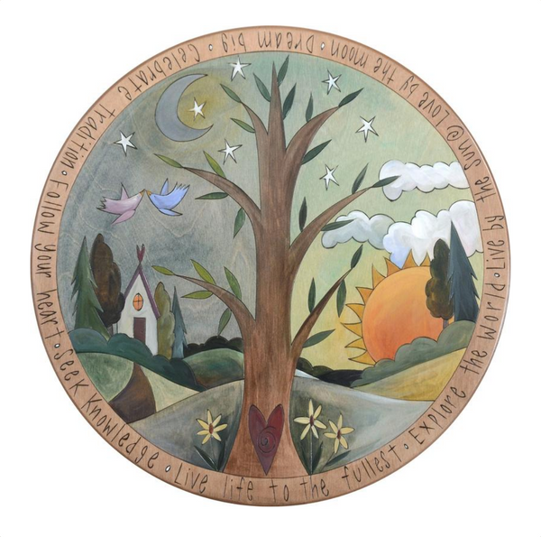 Tree of Life Lazy Susan
