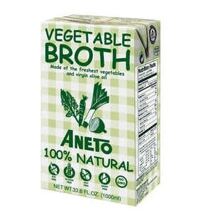 Vegetable Broth, Aneto