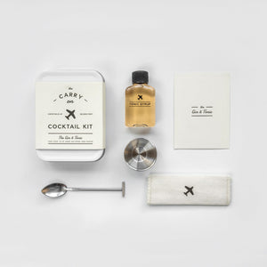 The Gin and Tonic Carry on Cocktail Kit