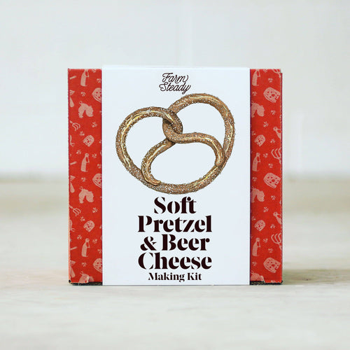 Soft Pretzel and Beer Cheese Kit