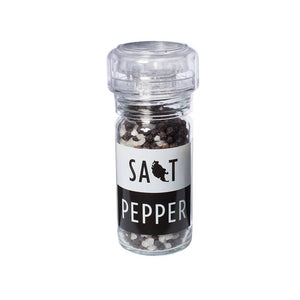 San Juan Island Sea Salt - Organic Pepper Salt Grinder